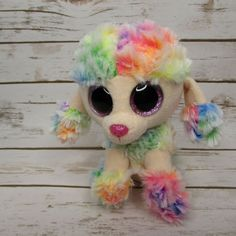 "Daffodil Ty Beanie Boo/'s Collection 6/"" Pastel Lamb"