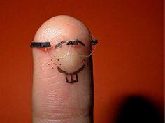 nerdy funny finger