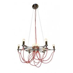 We Love this Exposed Cord Pendant Light!