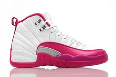 "AIR JORDAN XII GS ""DYNAMIC PINK""  Girls Hot Kicks Size 4-7Y available $125.00 Limited Supply"