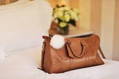 leather travel #bag