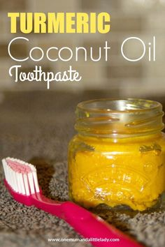 Ditch the chemicals in many shop bought toothpastes and put a smile on your face with this all natural and easy to make turmeric coconut oil toothpaste recipe...