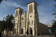 San Fernando Cathedral (San Antonio) was founded in 1731 and is the oldest, continuously functioning religious community in the State of Texas.