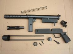 The Zagi M91 - STEN knockoff