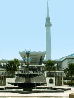 Kuala Lumpur, National Mosque - Tipps zum Leben, Arbeiten und Reisen in Malaysia