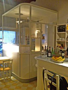 Restyling Maono. Da vinaino in galleria bistrot. Dettaglio della nuova cucina.