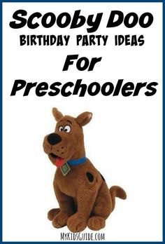 If you're planning a birthday party soon, check out these great Scooby Doo Birthday Party Ideas For Preschoolers.