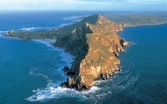 Cape Point South Africa..where the Indian and Atlantic oceans meet...too cool.