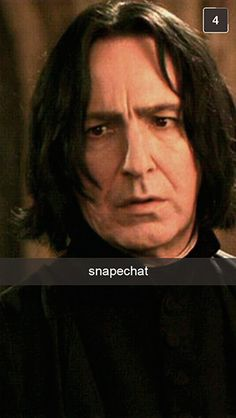 28 Snapchats From #harrypotter  #hp #snape