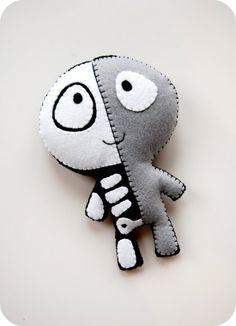 The Half Plush / Eco Friendly Handmade Stuffed Toy.