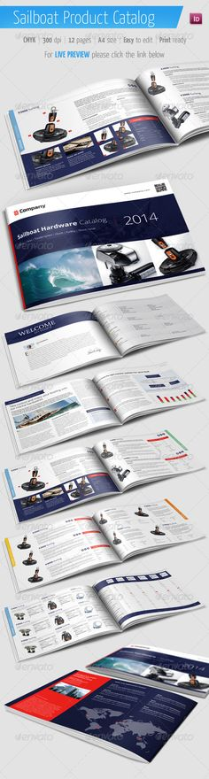 Catalog template for any products.  Features:A4 size (297210 mm / 11.78.3 inch) Easy picture change in Indesign Editable texts Sev