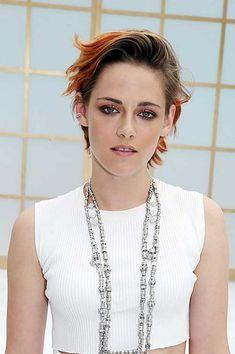 Kristen Stewart Messy Slicked Pixie Hair