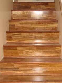 Windmill Home Services   Engineered Hardwood Stairs Install.   Burnaby, BC,  Canada