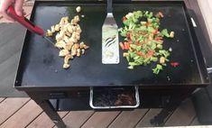 Teriyaki Chicken Stir Fry on the Blackstone Griddle - My Backyard Life Chicken Teriyaki Sauce, Teriyaki Steak, Homemade Teriyaki Sauce, Chicken Stir Fry, How To Cook Chicken, Hibatchi Recipes, Stir Fry Recipes, Grilling Recipes, Chicken Recipes