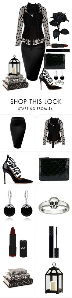 """""""Smart~n~Sexy"""" by loves-elephants ❤ liked on Polyvore featuring J.TOMSON, Marc Jacobs, Gianvito Rossi, Comme des Garçons, Bling Jewelry, King Baby Studio, NYX, Gucci, IMAX Corporation and Biddeford"""