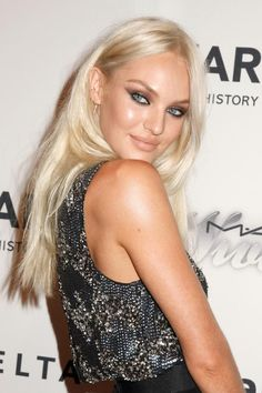 Candice Swanepoel Platinum Hair.... Wanna do it...!
