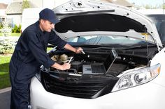 Car-mechanic-working-in-auto-repair-services – Jackson County Public Library Engine Repair, Car Engine, Car Repair Service, Oil Change, Engineering, Car Manuals, Schedule, Light Bulb, Garage