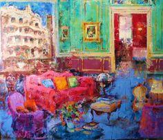 Contemporary Spanish Painter Costa Vila
