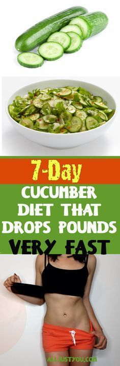 7-Day Cucumber Diet (With an Exercises Plan) That Drops Pounds Very Fast #fitness #health #weightloss #lose #weight #gym #workout #cardio #abs #fatburn #reduceweight