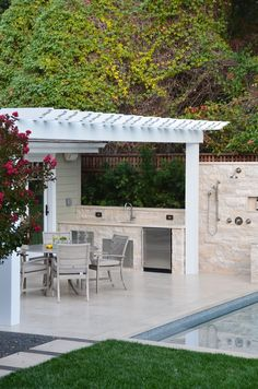 Outdoor Kitchen & Shower