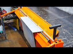 Making metal bender - YouTube Metal Working Tools, Metal Tools, Sheet Metal Bender, Metal Bending, Workshop, Construction, Metalworking, Chai, Building