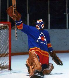 . Hockey Goalie, Hockey Games, Ice Hockey, Colorado Avalanche, Colorado Rockies, Goalie Mask, Vancouver Canucks, National Hockey League, Sports Pictures
