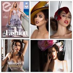 Great piece in Elements magazine featuring Sharper Millinery.