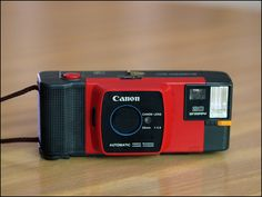 My second #camera! 1982 - Canon Snappy 20 (Red) by Marty4650, via Flickr