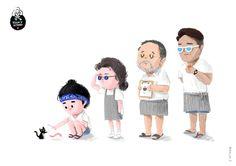 云餐厅文艺范 - 数码艺术, 插画