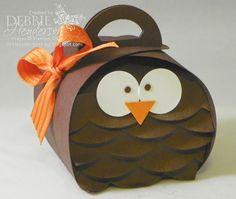 Debbie's Designs: Curvy Keepsakes Box Die Owl!