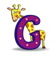 Alphabet latin — Wikimini, l'encyclopédie pour enfants Alphabet Latin, Images Alphabet, Alphabet Crafts, Giraffe, Symbols, Cartoon, Kids, Animals, Montages