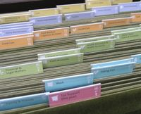 PRODUCT: Just Organize Your Stuff (JOYS) filing system; beautifully designed perfect for families.