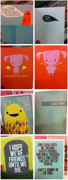 funny cards - the last one i have the perfect person for.