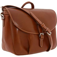 Mulholland Brothers Messenger Bag Tan Leather 4ff63a47fe240