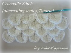 Do you like Crocodile Stitch? I do, though I haven't made any crochet items using it yet (just a few trial swatches).           However, I...