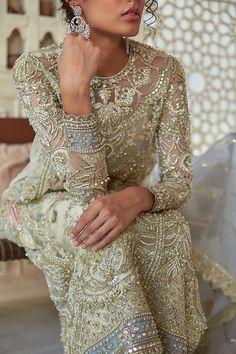 Walima Dress, Pakistani Formal Dresses, Pakistani Fashion Party Wear, Pakistani Wedding Outfits, Pakistani Couture, Indian Bridal Outfits, Pakistani Bridal Dresses, Pakistani Dress Design, Indian Fashion