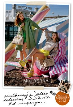 Mulberry Spring Summer 2012 Ad Campaign