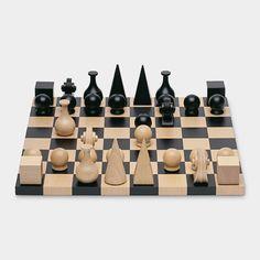 10 Beautiful Games Worth Displaying - pretty + modern chess board
