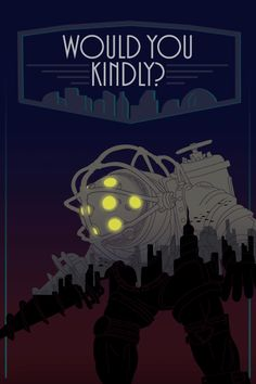 Bioshock: Big Daddy Art Print - by Porkies Available at Etsy.