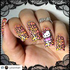#Repost @juhzinhah with @repostapp ・・・ Hello kitty é muito AMR  placa @sugar__bubbles Esmalte Impala Destino dos Sonhos e Esmalte para carimbo  Amarelo La Femme lá da @tonsycores #nail #nails #nailart #nailgasm #nailista #nailartist #nailjunkie #nailpolish #nailvinyls #nailpicture #nailpromote #nails2inspire #nailsnailsnails #nailartsbyjuhzinha #sugarbubbles #lafemme #Tonsycores #hellokitty #hk #inlove #instalover #cute