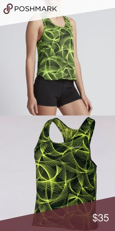 Women's Nike Dry Running Tank Wide armholes, a slightly loose fit and mesh fabric with sweat-wicking technology to help keep you cool and comfortable while ticking off those miles. Nike Dry fabric with Dri-FIT technology helps keep you dry and comfortable. Zippered pocket on the back-right hip secures small items. Wide armholes and loose fit are perfect for layering. Reflective details enhance visibility in low-light conditions. Allover wet print adds color with a flexible feel. Curved…