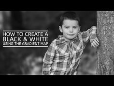 Creating a Black & White Photo Using Gradient Map » Floating Lights Photography | Castlegar, BC, Photographer