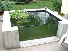 50 small garden backyard aquariums ideas pond turtle habitat садовые и Backyard Water Feature, Ponds Backyard, Small Garden Ponds, Goldfish Pond, Turtle Pond, Natural Pond, Pond Landscaping, Pond Design, Garden Fountains