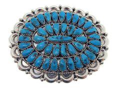 Justin, Saraphina Wilson, Pendant, Sleeping Beauty Turquoise - $210.00