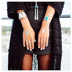 wearing the incredible Najo Berlin Cuff! Jewelry Branding, Sterling Silver Jewelry, Compliments, The Incredibles, Bling, Jewels, Earrings, How To Wear, Outfits