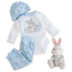 Disney Thumper Layette Gift Set for Baby Disney Baby Clothes, Baby Kids Clothes, Baby Disney, Baby Boy Outfits, Kids Outfits, Dream Baby, Baby Time, Kids Fashion, Unisex