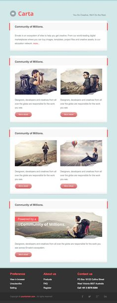 10 Creative Responsive Email Template for Digital Marketing Communication | Responsive King