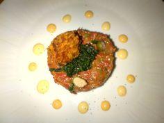 Beef Tartare 'Surf & Turf' with crispy crab cake @ Restaurant El Gaucho