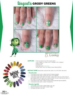 Get emotional with this #InsideOut inspired nail art tutorial!