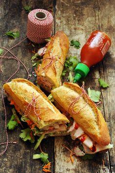 Mais pourquoi est-ce que je vous raconte ça... Dorian cuisine.com: Le bánh mì, peut-être mon sandwich préféré ! 2e étape et le casse-croûte fut !